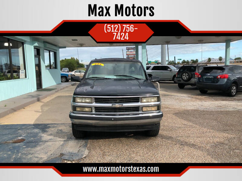1999 Chevrolet Suburban for sale at Max Motors in Corpus Christi TX