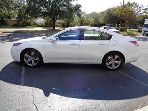 2014 Acura TL for sale at BALKCUM AUTO INC in Wilmington NC