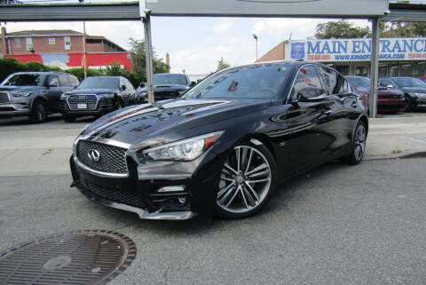 2017 Infiniti Q50 for sale at MIKEY AUTO INC in Hollis NY