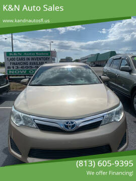2012 Toyota Camry Hybrid for sale at K&N Auto Sales in Tampa FL