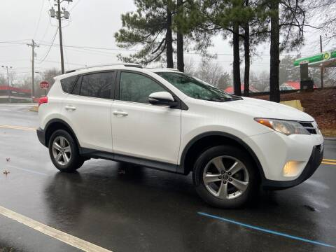 2015 Toyota RAV4 for sale at THE AUTO FINDERS in Durham NC