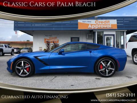 2015 Chevrolet Corvette for sale at Classic Cars of Palm Beach in Jupiter FL