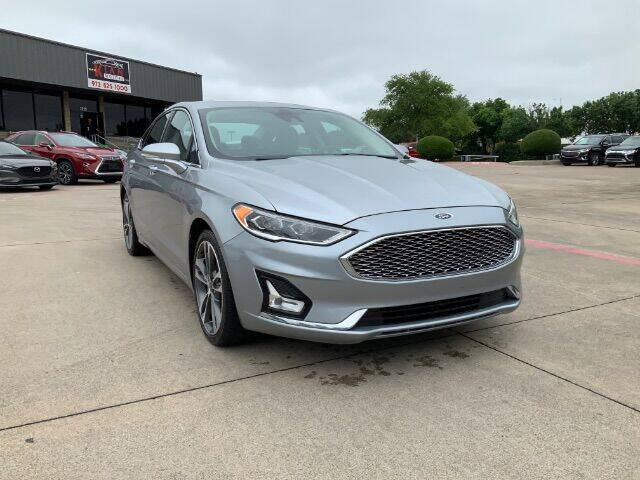 2020 Ford Fusion for sale at KIAN MOTORS INC in Plano TX