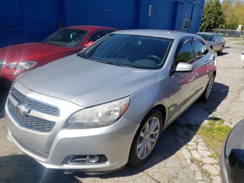 2013 Chevrolet Malibu for sale at M & C Auto Sales in Toledo OH