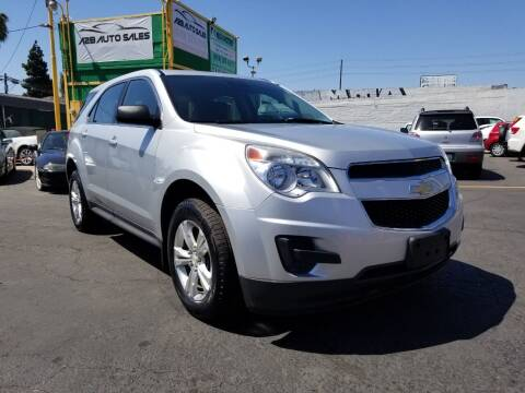2015 Chevrolet Equinox for sale at A2B AUTO SALES in Chula Vista CA