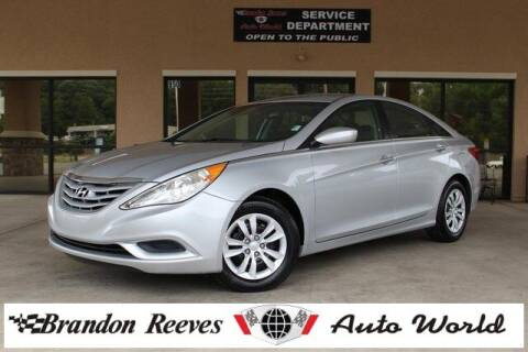2012 Hyundai Sonata for sale at Brandon Reeves Auto World in Monroe NC