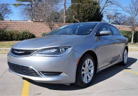 2015 Chrysler 200 for sale at International Auto Sales in Garland TX