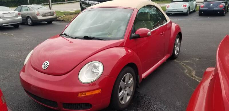 2006 Volkswagen New Beetle Convertible for sale at Germantown Auto Sales in Carlisle OH