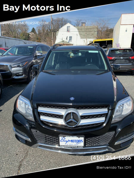 2014 Mercedes-Benz GLK for sale at Bay Motors Inc in Baltimore MD