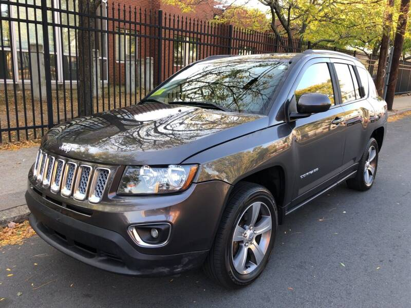2016 Jeep Compass for sale at Commercial Street Auto Sales in Lynn MA
