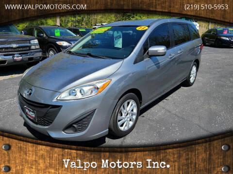2013 Mazda MAZDA5 for sale at Valpo Motors Inc. in Valparaiso IN
