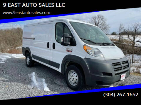 2016 RAM ProMaster Cargo for sale at 9 EAST AUTO SALES LLC in Martinsburg WV