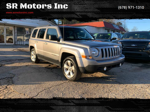 2016 Jeep Patriot for sale at SR Motors Inc in Gainesville GA