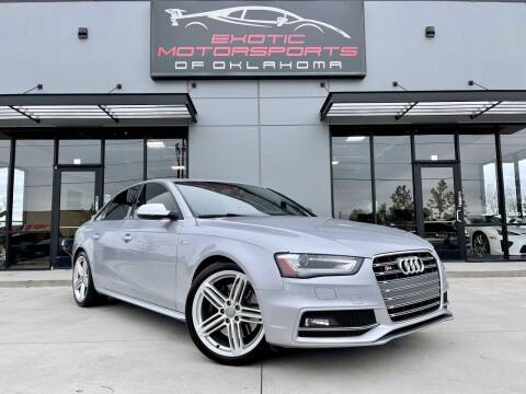 2015 Audi S4 for sale at Exotic Motorsports of Oklahoma in Edmond OK