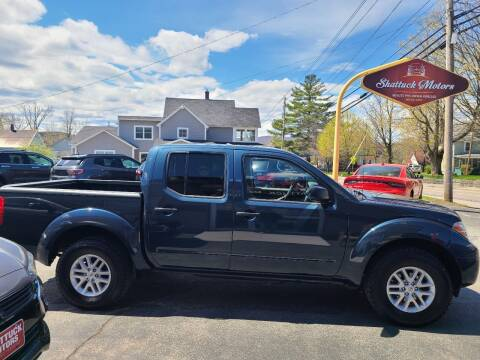 2017 Nissan Frontier for sale at Shattuck Motors in Newport VT
