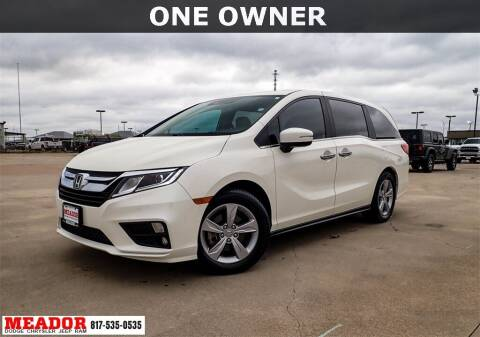 2019 Honda Odyssey for sale at Meador Dodge Chrysler Jeep RAM in Fort Worth TX