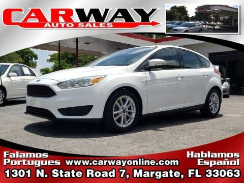 2015 Ford Focus for sale at CARWAY Auto Sales in Margate FL