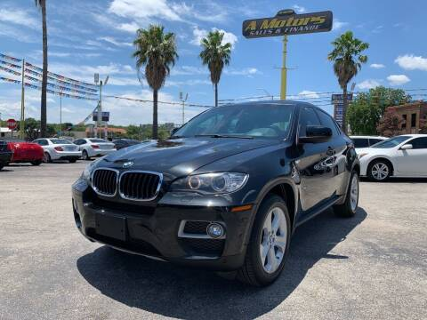 2014 BMW X6 for sale at A MOTORS SALES AND FINANCE in San Antonio TX