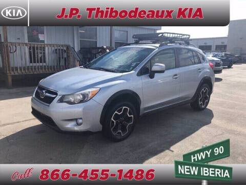 2014 Subaru XV Crosstrek for sale at J P Thibodeaux Used Cars in New Iberia LA