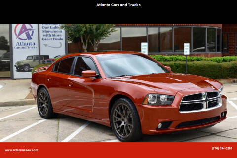2013 Dodge Charger for sale at Atlanta Cars and Trucks in Kennesaw GA