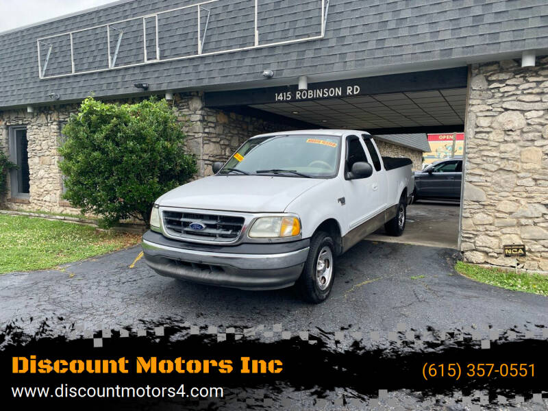 2003 Ford F-150 for sale at Discount Motors Inc in Old Hickory TN