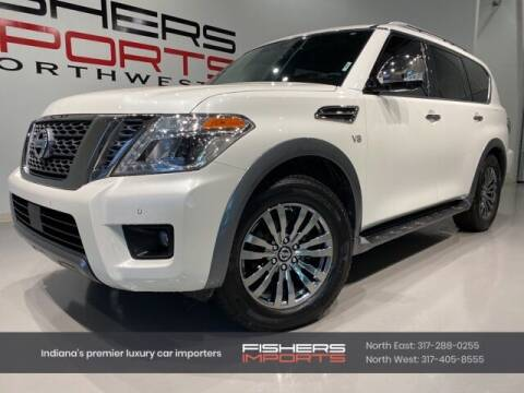 2018 Nissan Armada for sale at Fishers Imports in Fishers IN