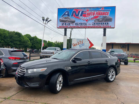 2013 Ford Taurus for sale at ANF AUTO FINANCE in Houston TX