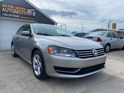 2013 Volkswagen Passat for sale at Dalton George Automotive in Marietta OH