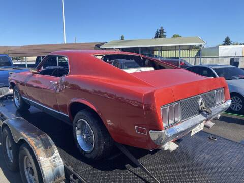 1970 Ford Mustang for sale at Salem Motorsports in Salem OR