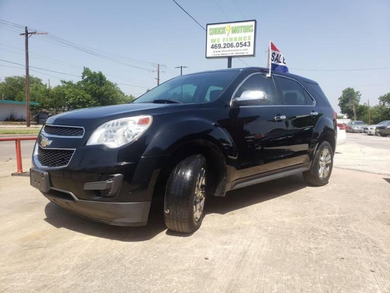 2015 Chevrolet Equinox for sale at Shock Motors in Garland TX