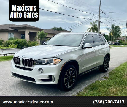 2018 BMW X5 for sale at Maxicars Auto Sales in West Park FL