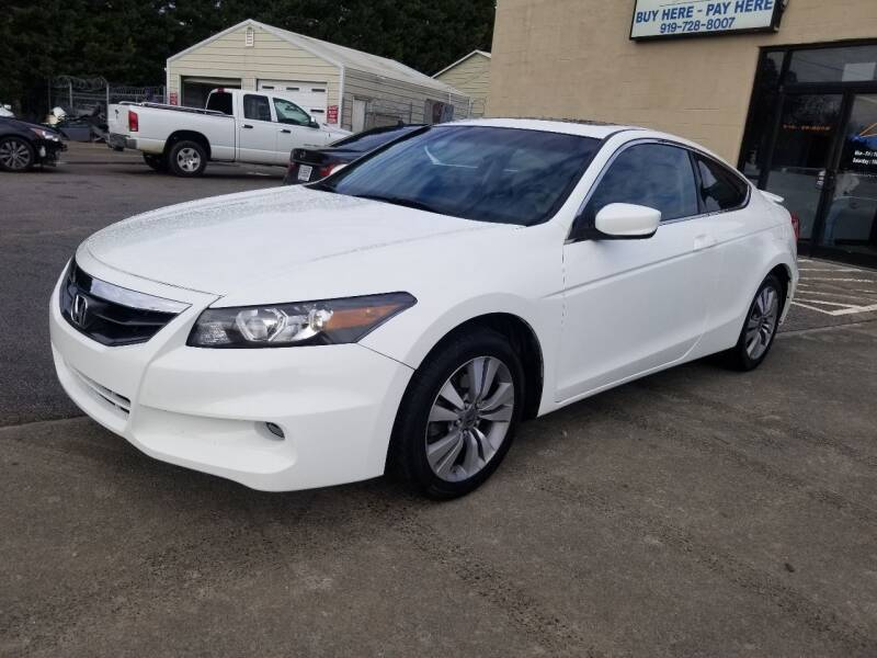 2011 Honda Accord for sale at Pinnacle Acceptance Corp. in Franklinton NC