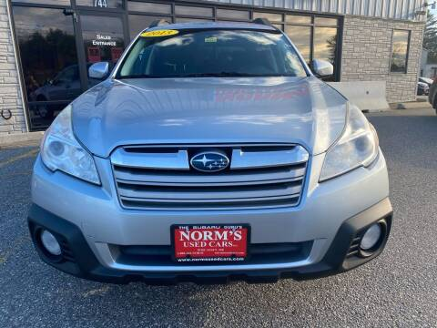2013 Subaru Outback for sale at NORM'S USED CARS INC in Wiscasset ME