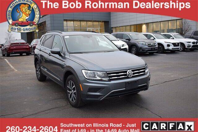 2020 Volkswagen Tiguan for sale at BOB ROHRMAN FORT WAYNE TOYOTA in Fort Wayne IN