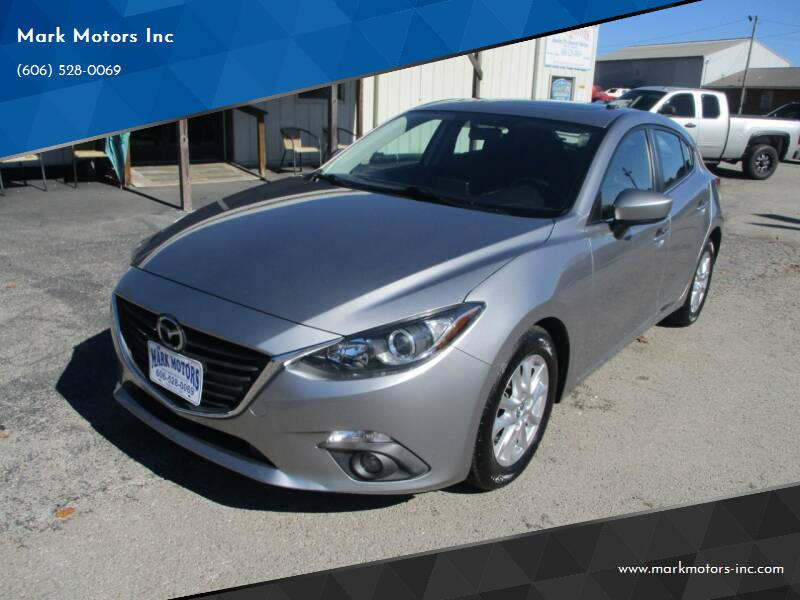 2015 Mazda MAZDA3 for sale at Mark Motors Inc in Gray KY