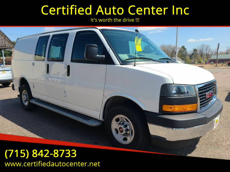 2019 GMC Savana Cargo for sale at Certified Auto Center Inc in Wausau WI