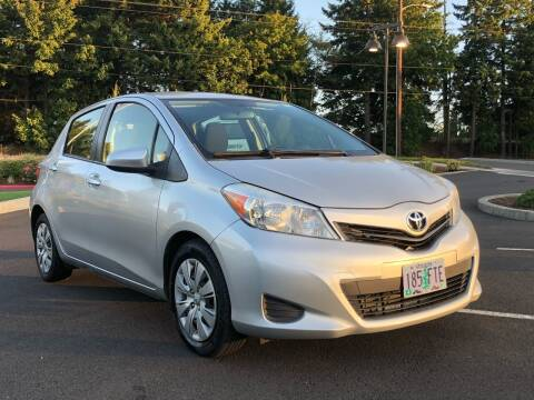2012 Toyota Yaris for sale at Rave Auto Sales in Corvallis OR