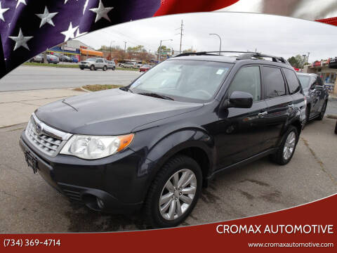 2011 Subaru Forester for sale at Cromax Automotive in Ann Arbor MI