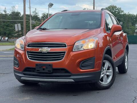 2015 Chevrolet Trax for sale at MAGIC AUTO SALES in Little Ferry NJ