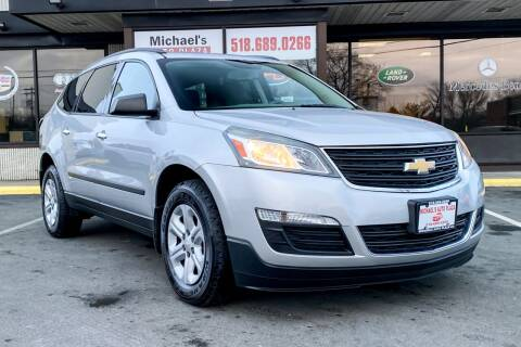 2013 Chevrolet Traverse for sale at Michaels Auto Plaza in East Greenbush NY