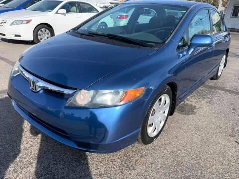 2006 Honda Civic for sale at RABI AUTO SALES LLC in Garden City ID