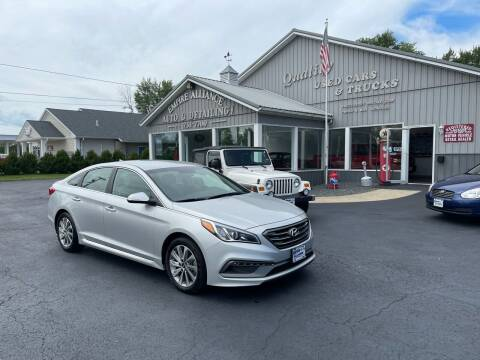 2017 Hyundai Sonata for sale at Empire Alliance Inc. in West Coxsackie NY
