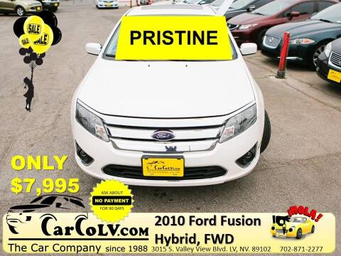 2010 Ford Fusion Hybrid for sale at The Car Company in Las Vegas NV