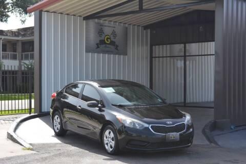 2016 Kia Forte for sale at G MOTORS in Houston TX