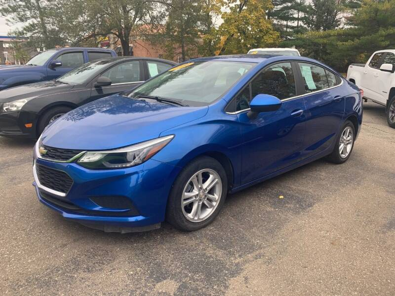 2016 Chevrolet Cruze for sale at Leonard Enterprise Used Cars in Orion MI