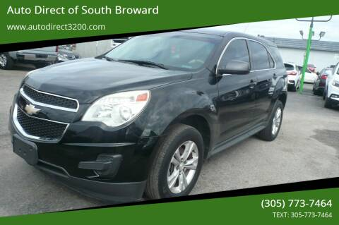 2014 Chevrolet Equinox for sale at Auto Direct of South Broward in Miramar FL