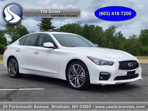 2015 Infiniti Q50 for sale at The Annex in Stratham NH