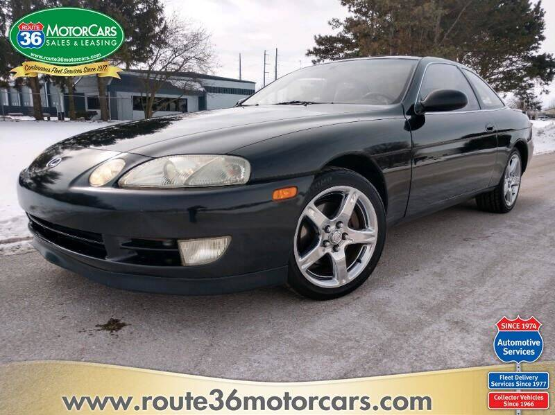 1993 Lexus SC 400 for sale at ROUTE 36 MOTORCARS in Dublin OH