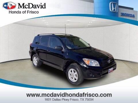 2007 Toyota RAV4 for sale at DAVID McDAVID HONDA OF IRVING in Irving TX