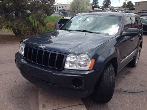 2007 Jeep Grand Cherokee for sale at Cherry Motors in Castle Rock CO